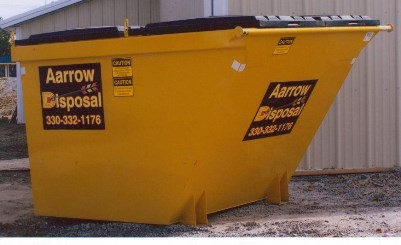 Commercial waste container
